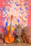 Violin  still life Stock Image