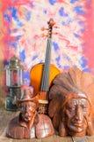 Violin  still life Royalty Free Stock Photography