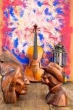 Violin  still life Stock Photography