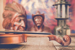 Violin  still life Stock Images