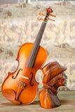 Violin - still life Stock Photos