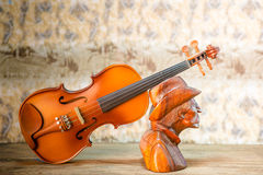 Violin - still life Royalty Free Stock Photo