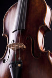 Violin string art musical objekt Royalty Free Stock Images