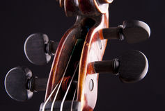 Violin string art musical objekt Stock Image