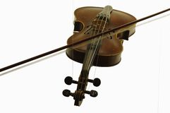 Violin string instruments objects isolated Stock Photo