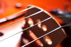 Violin strings Royalty Free Stock Photo