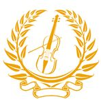 Violin symbol Royalty Free Stock Images