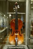 Violin in Uffizi Gallery royalty free stock image