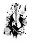 Violin vector Royalty Free Stock Image