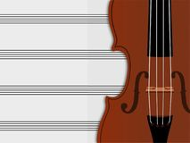 Violin vector illustrations isolated in white background vector illustration