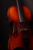Violin. Vintage violin as background close-up Stock Images