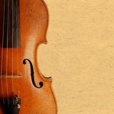 Violin vintage background Royalty Free Stock Images
