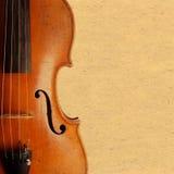 Violin vintage background Royalty Free Stock Images