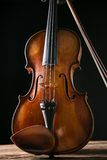 Violin in vintage style Royalty Free Stock Image