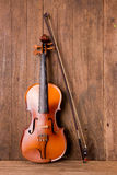 Violin in vintage style Stock Images