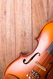 Violin in vintage style Stock Photo