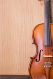 Violin in vintage style Royalty Free Stock Images