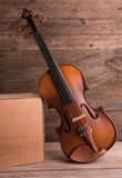 Violin in vintage style Royalty Free Stock Photography