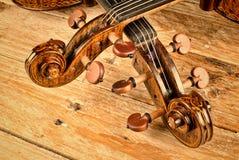 Violin and viola Royalty Free Stock Image