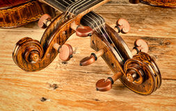 Violin and viola Royalty Free Stock Images