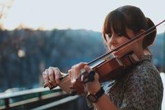 Violin, Violin Family, Violinist, Musical Instrument Stock Photo