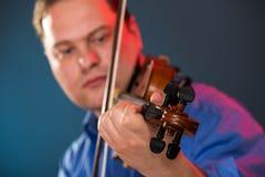 Violin Virtuoso Royalty Free Stock Image