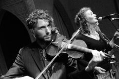 Violin and Vocalist Extrodinare Stock Photography