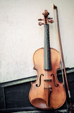 Violin on a wall Royalty Free Stock Images