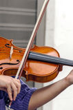 Violin was played by a man, Stock Photos
