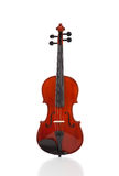 Violin on White Stock Image