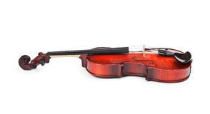Violin  on white Royalty Free Stock Photography