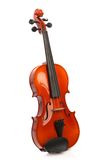 Violin on white Stock Image