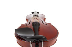 Violin on a white background Royalty Free Stock Photo