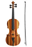 Violin. On a white background Royalty Free Stock Photo
