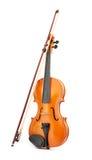 Violin on white background Stock Photos