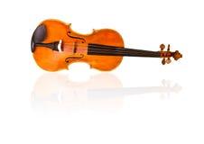 Violin on white background Royalty Free Stock Photos