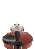 Violin on a white with copy space Stock Image
