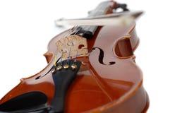 Violin on White (series) Royalty Free Stock Photos