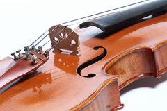 Violin13.JPG. Violin box closeup Royalty Free Stock Photos
