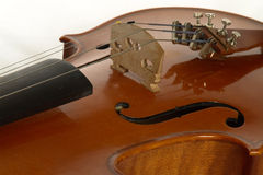 Violin4.jpg. Violin closeup Royalty Free Stock Photo