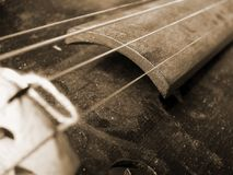violine的葡萄酒 库存照片