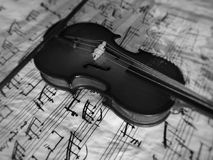 Violine το μουσικό όργανο Στοκ Εικόνες