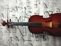 Violine Στοκ φωτογραφίες με δικαίωμα ελεύθερης χρήσης