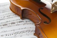 Violine Lizenzfreie Stockbilder