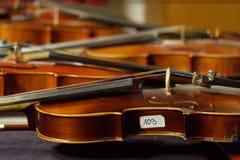 103. Violine Lizenzfreies Stockbild