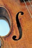 Violine Antonius-Stradivarius Lizenzfreie Stockfotos