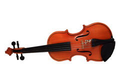 Violine auf einem weißen Hintergrund Lizenzfreie Stockbilder