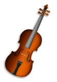 Violine auf Weiß Stockbild