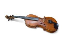 Violine auf Weiß Lizenzfreie Stockfotos