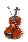 Violine auf Weiß (Serien) Lizenzfreies Stockfoto